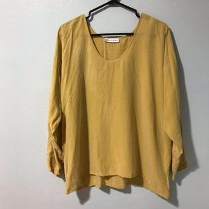 Bryan Emerson Long Sleeve Blouse One Size